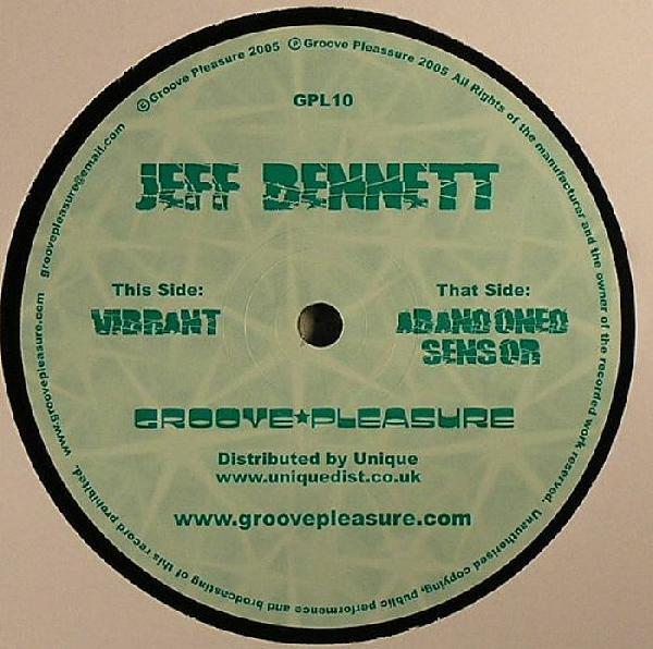 Jeff Bennett – Abandoned Sensor – Groovepleasure Rec