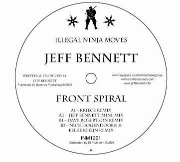 Jeff Bennett – Front Spiral – Illegal Ninja Moves Rec