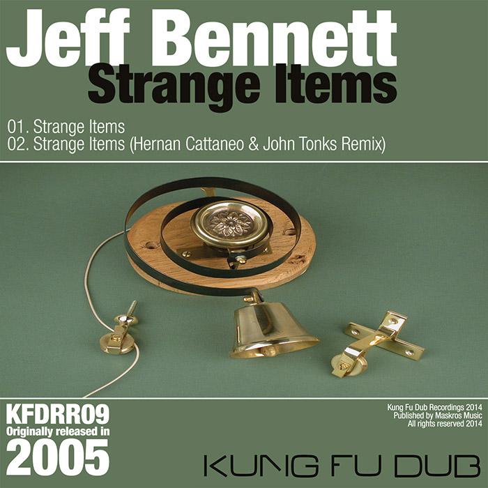 Jeff Bennett – Strange Items – Kung Fu Dub Rec