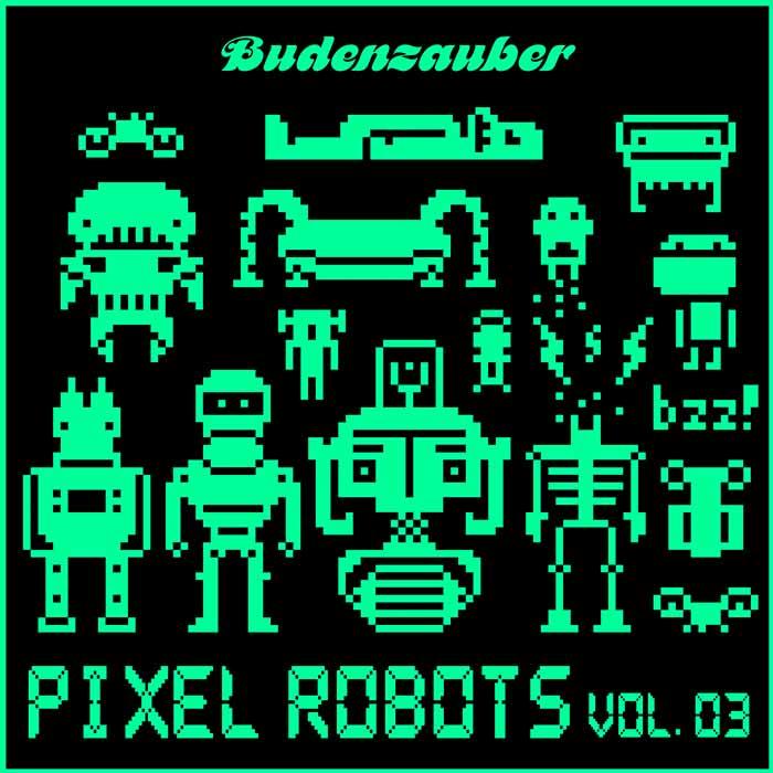 Pixel Robots Vol. 3